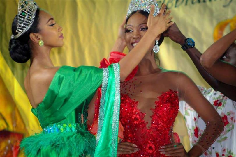 Faydeha King crowned Miss Earth Guyana 2019