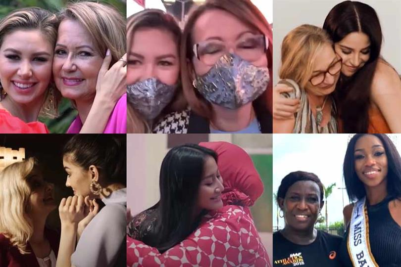 Celebrating mothers with delegates of Miss Universe 2020