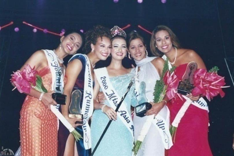 Dia Mirza Miss Asia Pacific 2000
