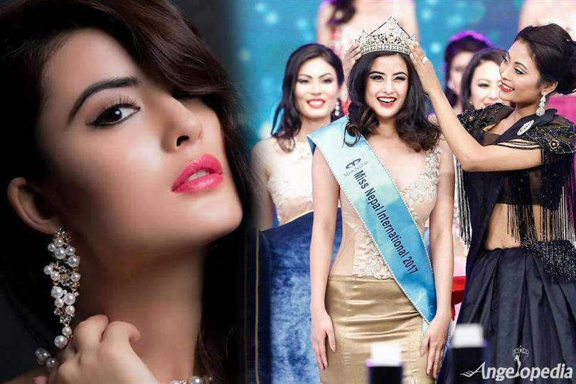 Niti Shah from Nepal - A strong contender for Miss International 2017