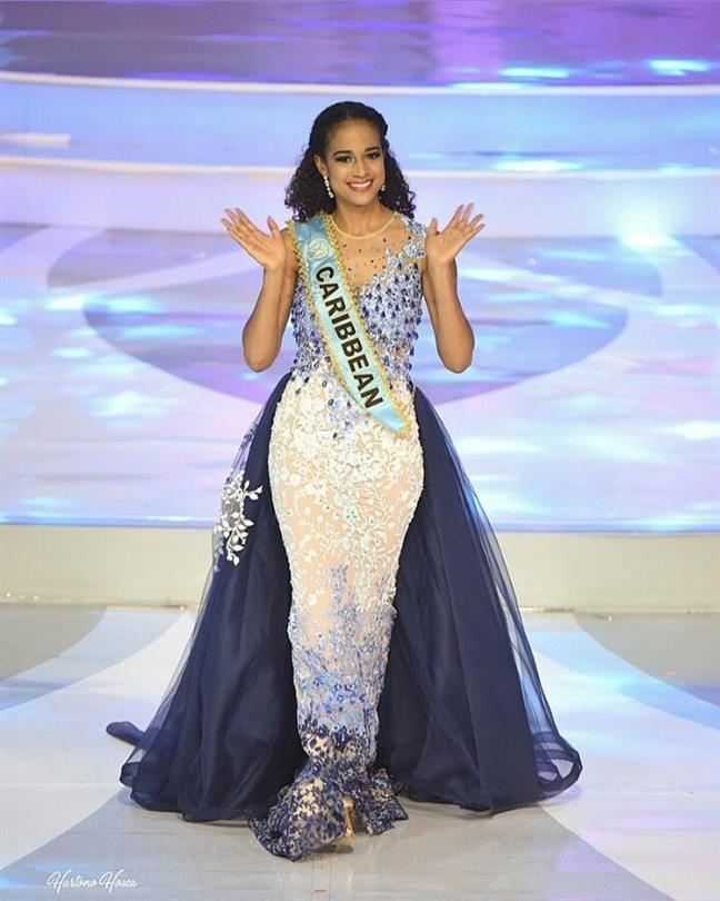 Continental queens rock evening gowns at Miss Indonesia 2018