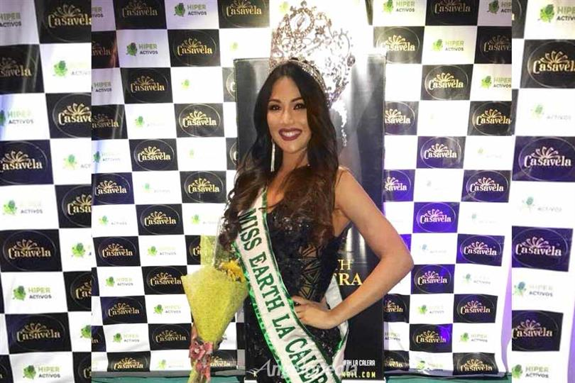 Francisca Contreras crowned Miss Earth La Calera 2018 for Miss Earth Chile 2018