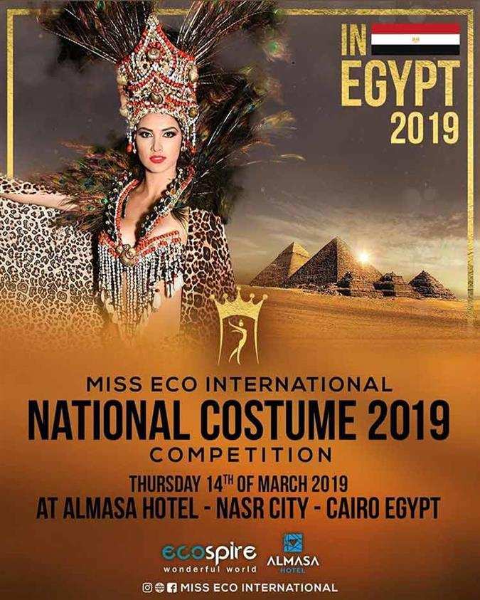 Miss Eco International 2019 National Costume Competition Live Stream and Updates