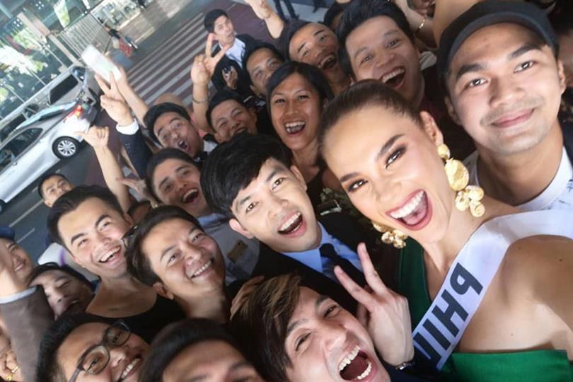 Catriona Gray officially sets off to Thailand for 67th Miss Universe pageant