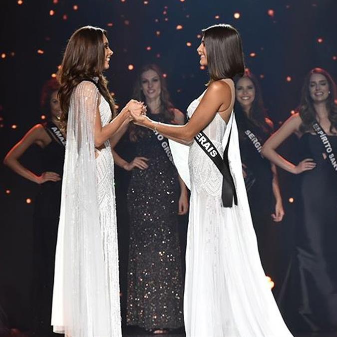 Júlia do Vale Horta Miss Minas Gerais 2019 and Luana Carvalho Lobo Miss Ceará 2019