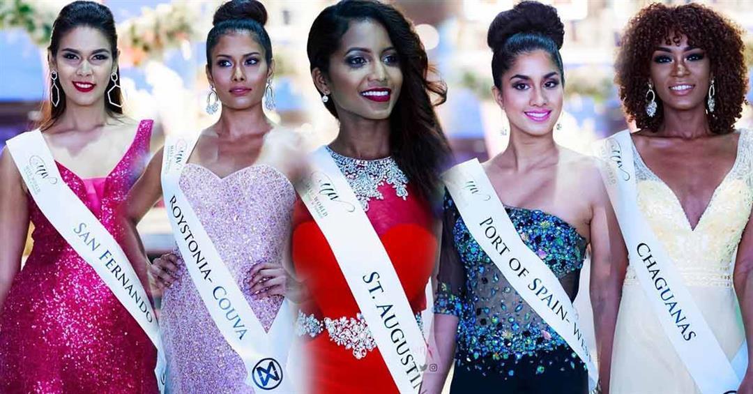 Miss World Trinidad and Tobago 2018 Top 5 Hot Picks by Angelopedia