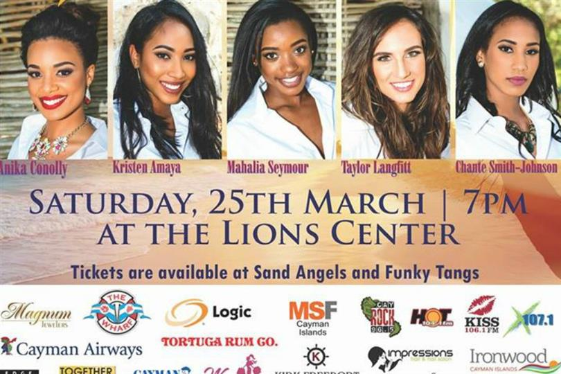 Miss Cayman Islands 2017 Live Telecast, Date, Time and Venue