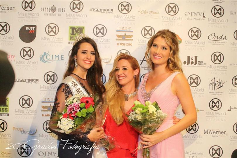 Mireia Lalaguna Miss World 2015 was in Barcelona