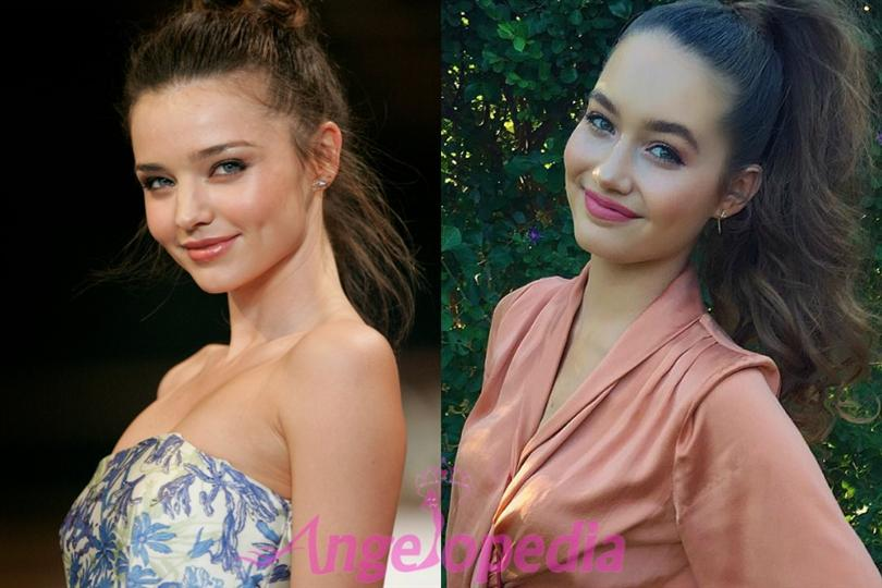 Caris Tiivel ruling the internet for her striking resemblance to Miranda Kerr