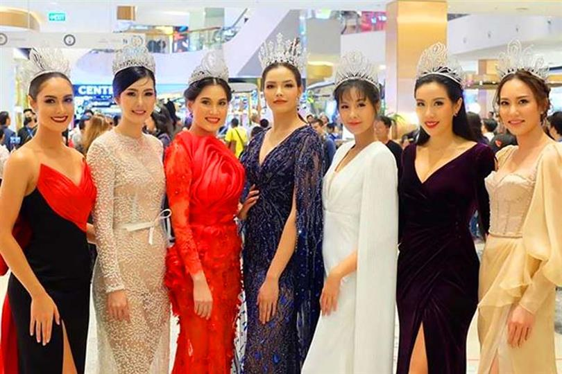 Thailand's pageant queens grace the event of Beauty Legend 2020