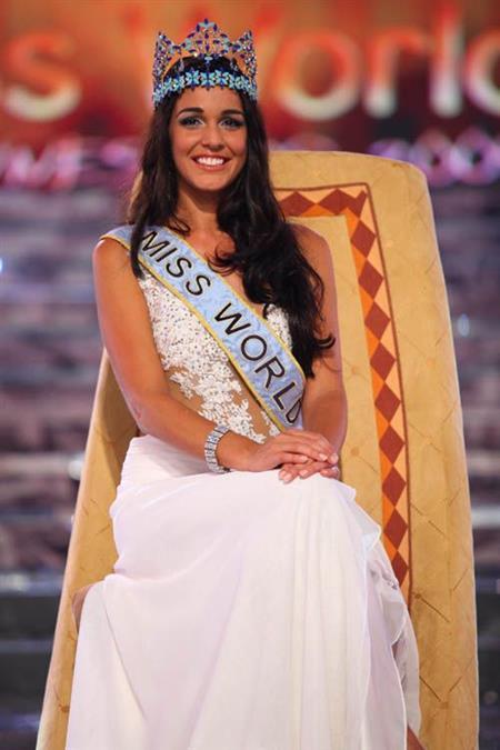 Miss World 2009 Kaiane Aldorino