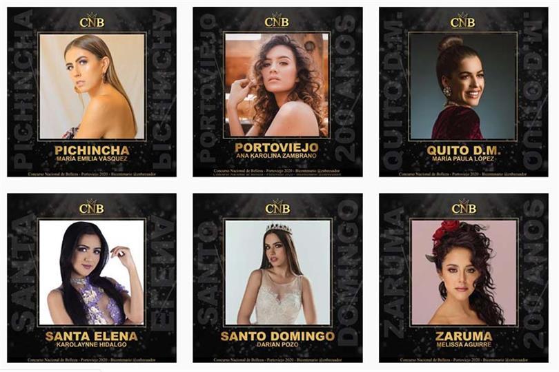 Miss World Ecuador 2020 Meet the Delegates