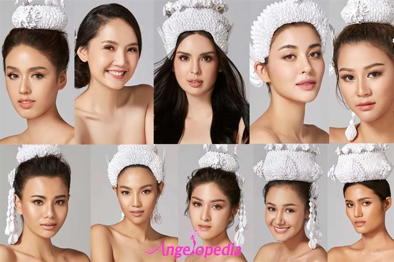 Miss World Thailand 2018 Meet the Contestants