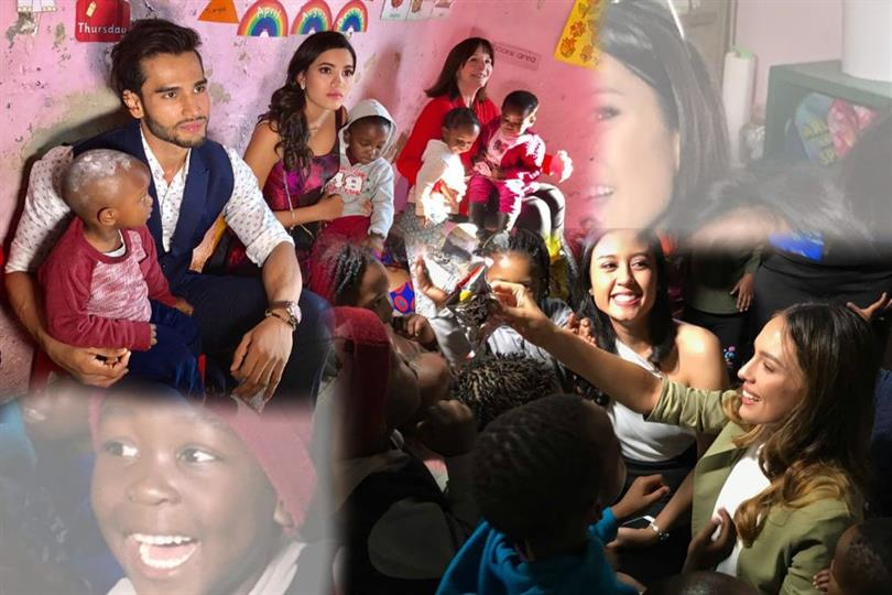 Miss World Team visits Mpumelelo Creche as part of Stop Hunger Now program