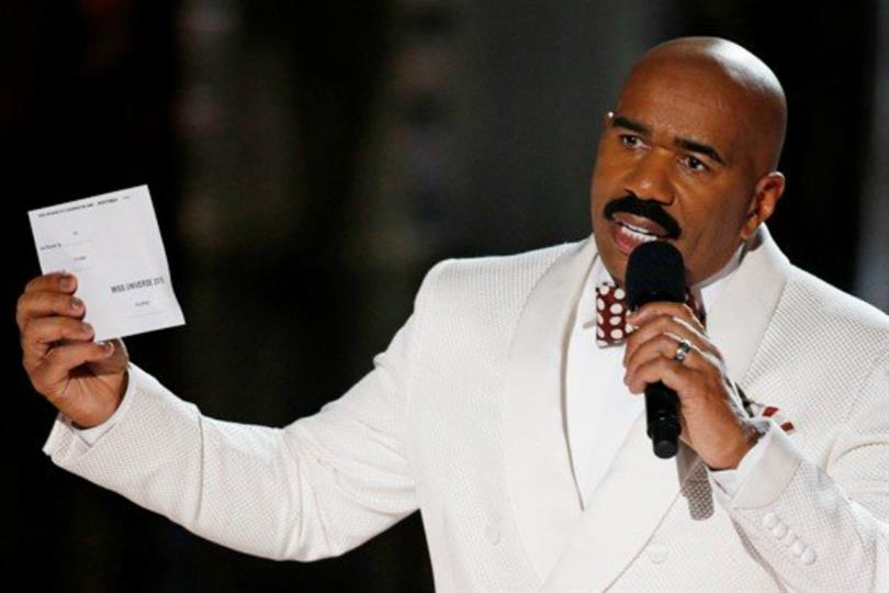 Steve Harvey famous in Brazil for all the wrong reasons