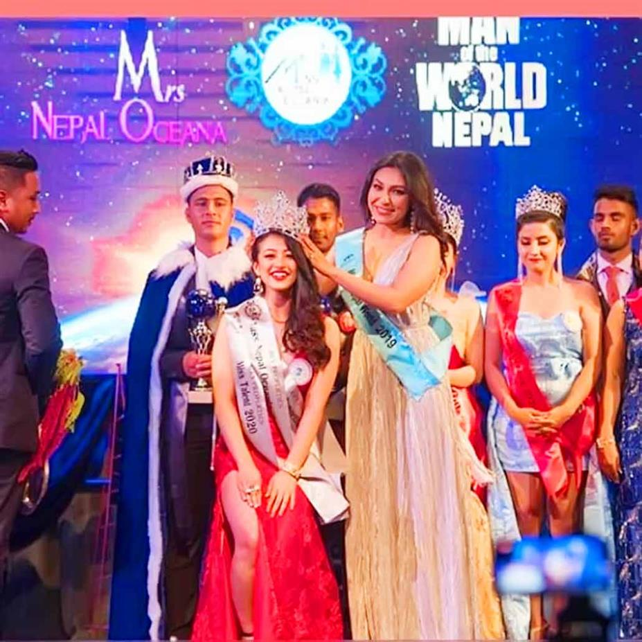 Jemina Shrestha crowned Miss Nepal Oceania 2020 for Miss Nepal 2020