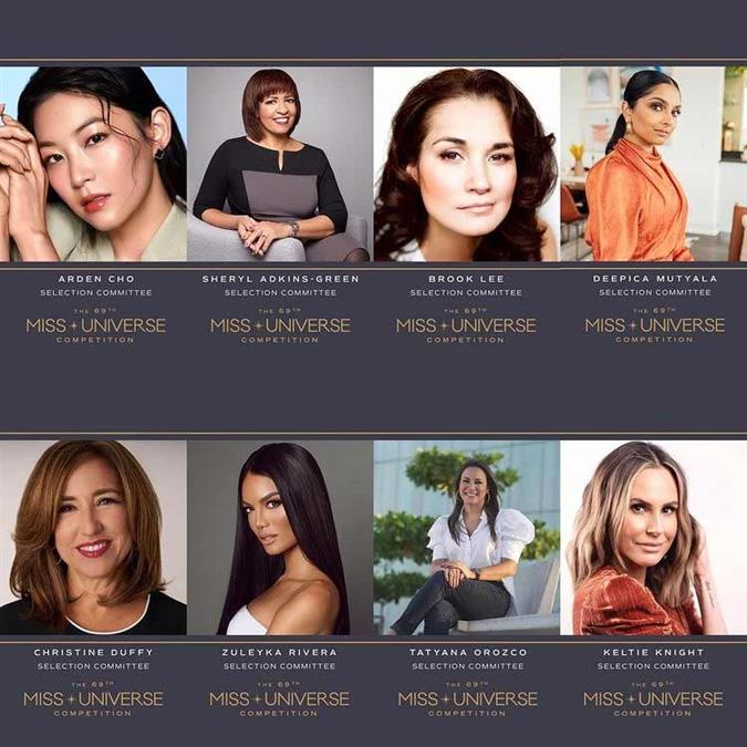 Meet the selection committee of Miss Universe 2020