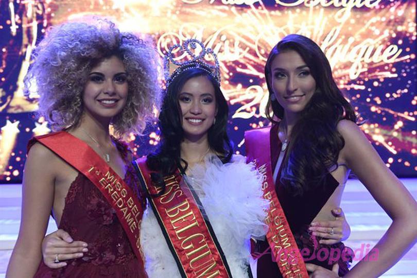 Angeline Flor Pua crowned Miss Belgium/ Miss België 2018