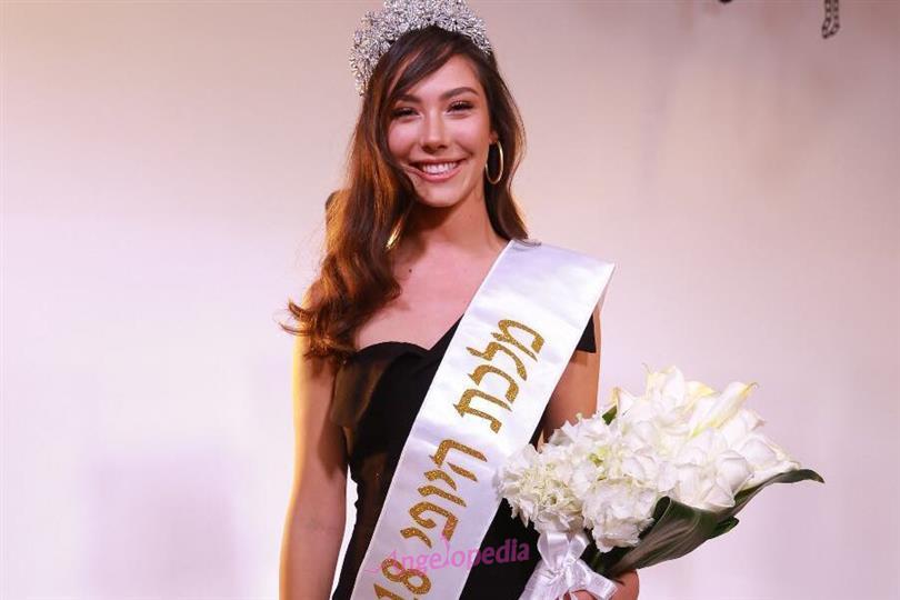 Nikol Reznikov crowned Miss Israel 2018