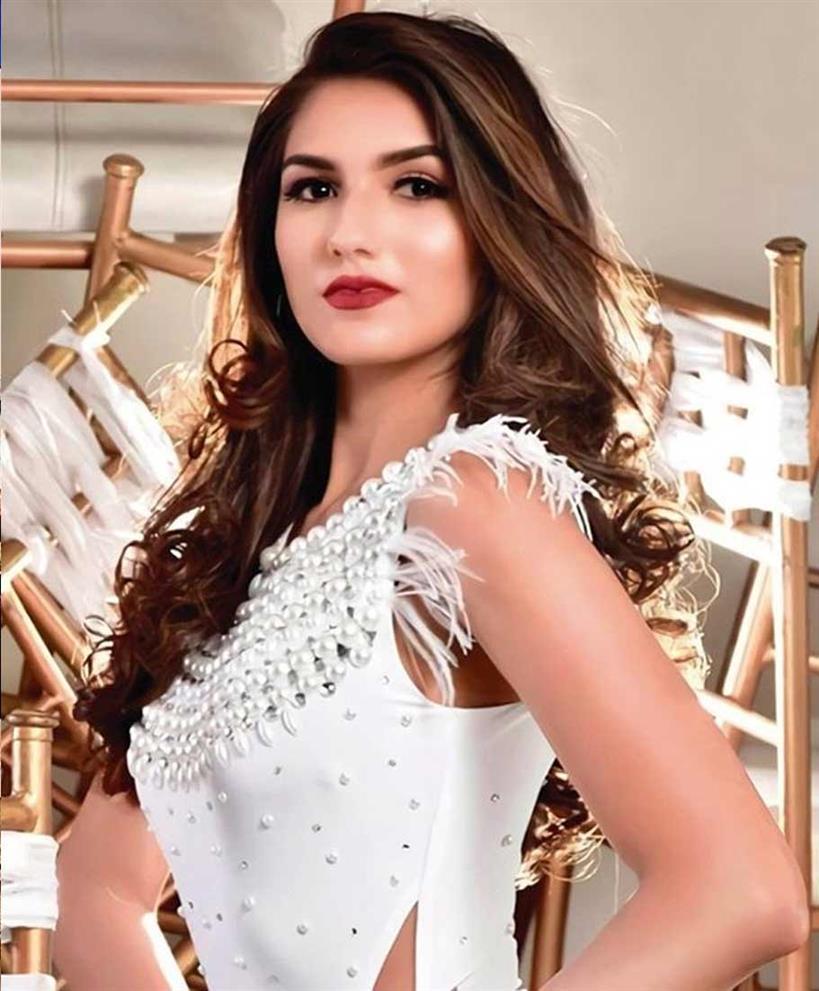 Andrea Aguilera Paredes Finalist Miss World Ecuador 2020