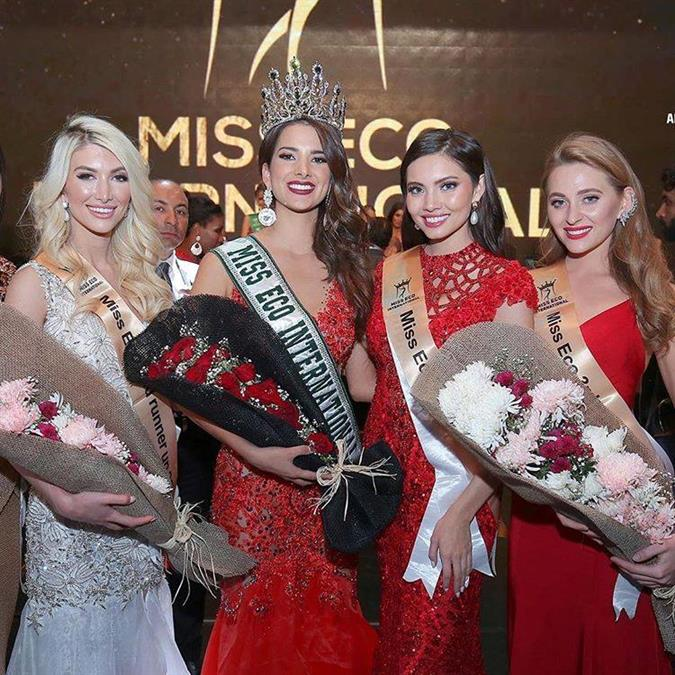 The splendid performance of Jordan Elizabeth of the USA in Miss Eco International 2019