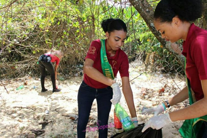 Miss Earth Guyana 2018 finalist Luan Pellew 'Beauties for a Cause' Project