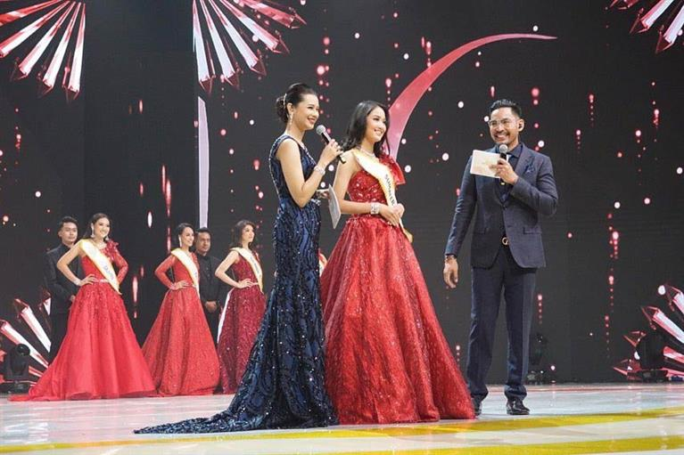 Miss Indonesia 2020 Top 5 Question and Answer round