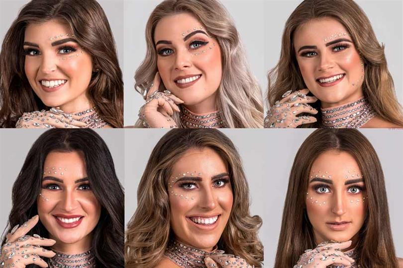 Miss Beauty of Drenthe 2020/21 Lisanne Dekker Miss Beauty of Flevoland 2020/21 Lisanne Flenter Miss Beauty of Friesland 2020/21 Alysha Bunicich Miss Beauty of Gelderland 2020/21 Cheyenne Huurman Miss Beauty of Groningen 2020/21 Roosmarijn Painter