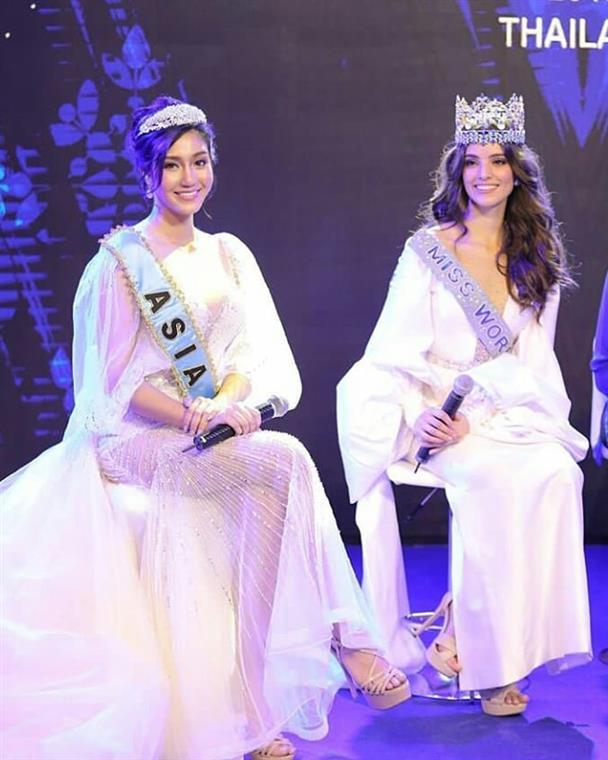 Miss World 2019 first official Press Conference held in Thailand