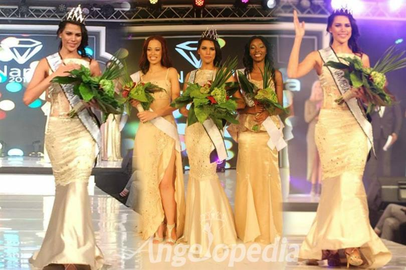 Suné January crowned as Miss Namibia 2017