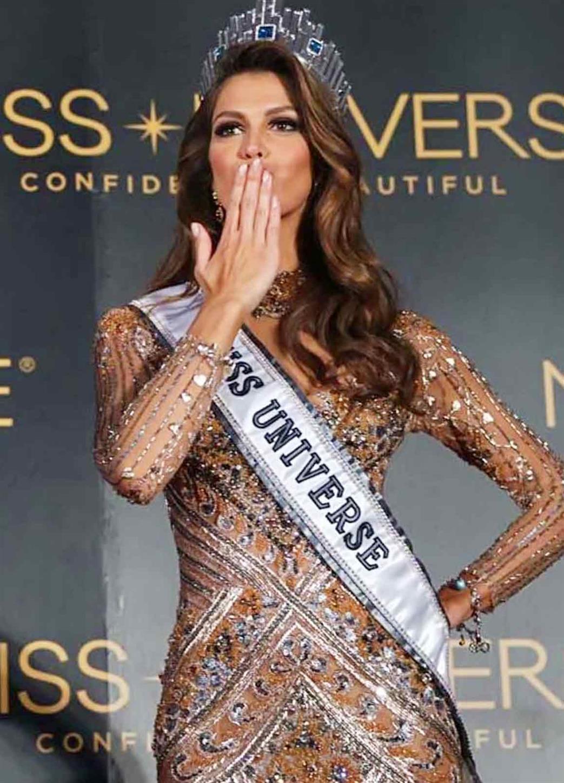 Iris Mittenaere from France winner Miss Universe 2016