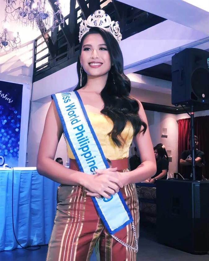 Send-off Press Conference for Michelle Marquez Dee Miss World Philippines 2019 for Miss World 2019
