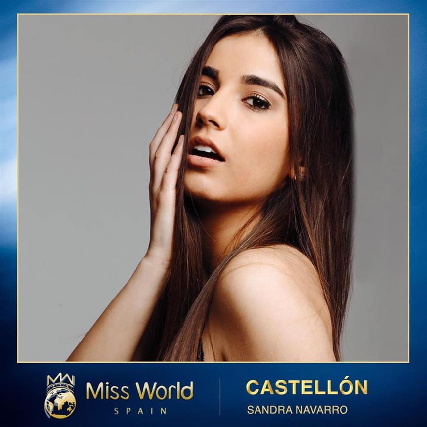 Sandra Navarro appointed Miss World Castellón 2020 for Miss World Spain 2020