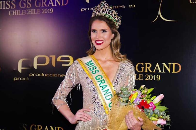 Francisca Lavandero crowned Miss Grand Chile 2019