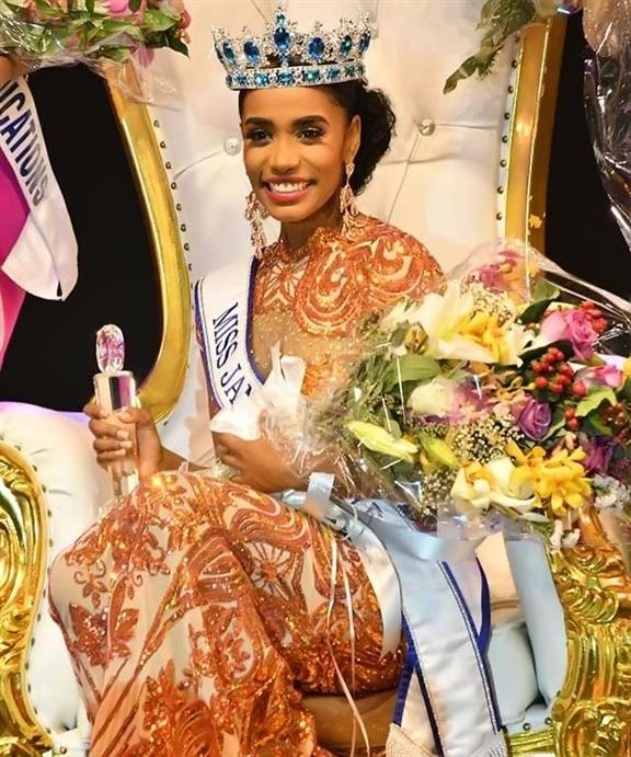 Toni-Ann Singh crowned Miss World Jamaica 2019