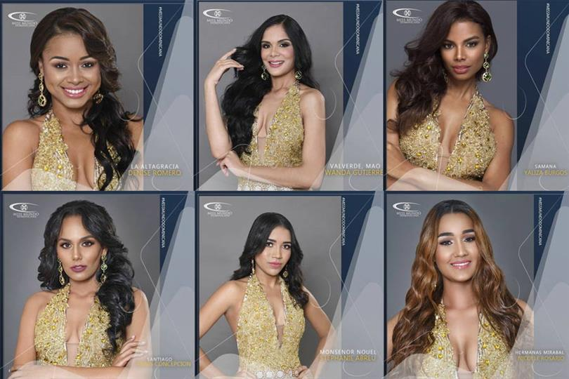 Miss Mundo Dominicana 2018 Meet the Contestants