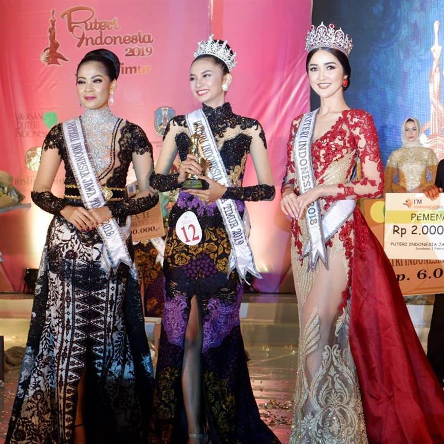 Bella Ekasandra crowned Puteri Indonesia Jawa Timur 2019 for Puteri Indonesia 2019