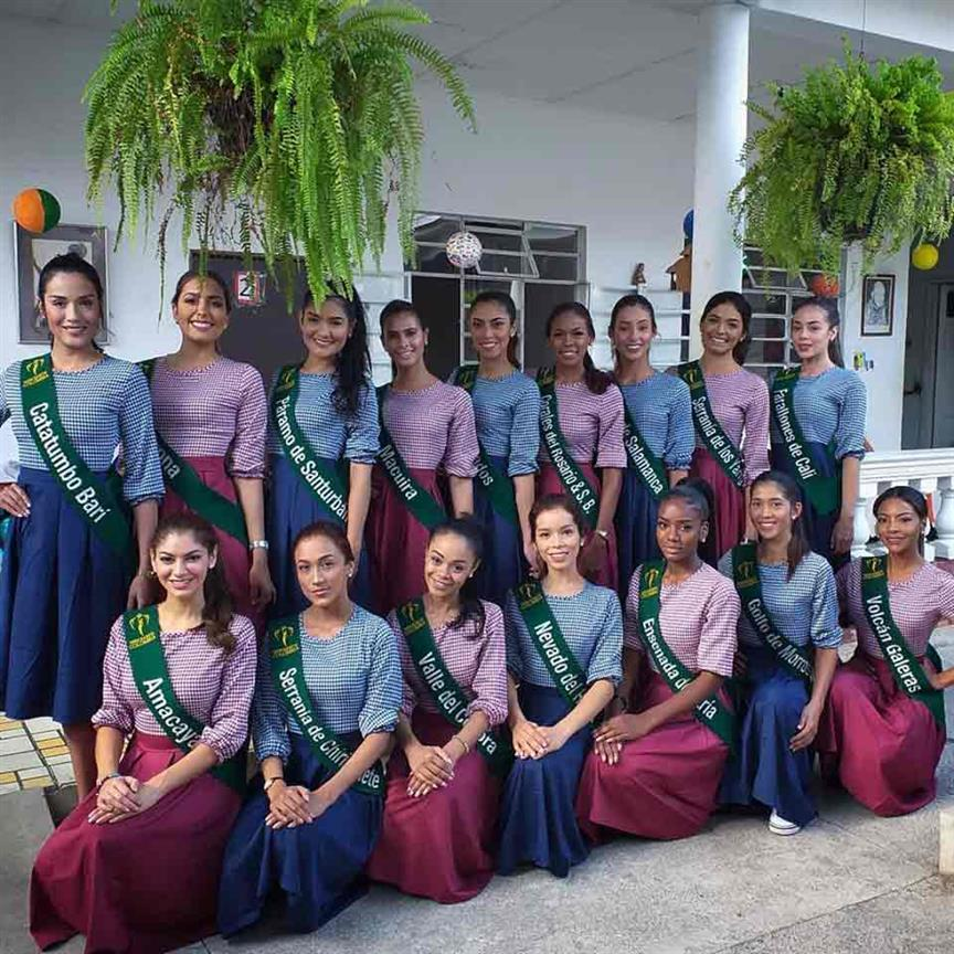 Miss Earth Colombia 2019 Meet the contestants