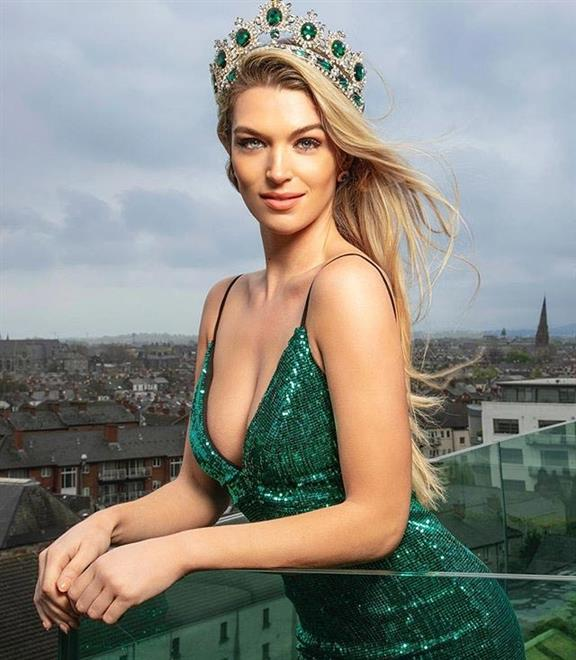 Miss Universe Ireland 2018 Grainne Gallanagh returns to nursing to help amidst corona outbreak