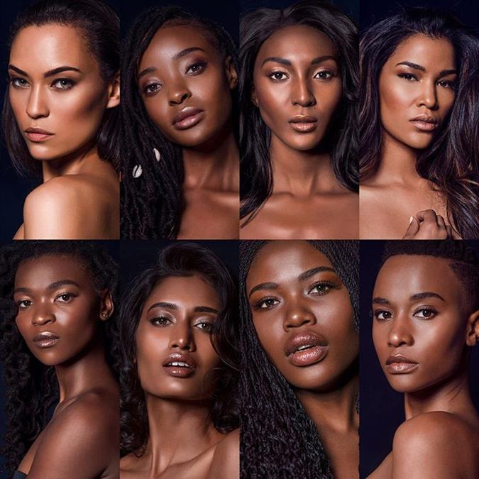 Miss South Africa 2019 Top 16 Finalists