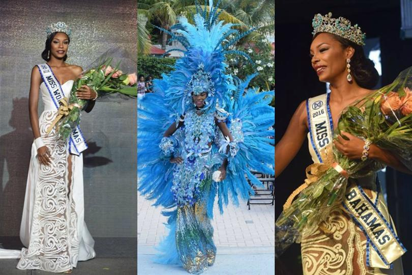 Ashley Hamilton crowned as Miss World Bahamas 2016