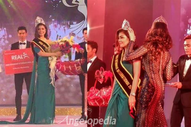 Inngyin Htoo crowned as Miss International Myanmar 2016