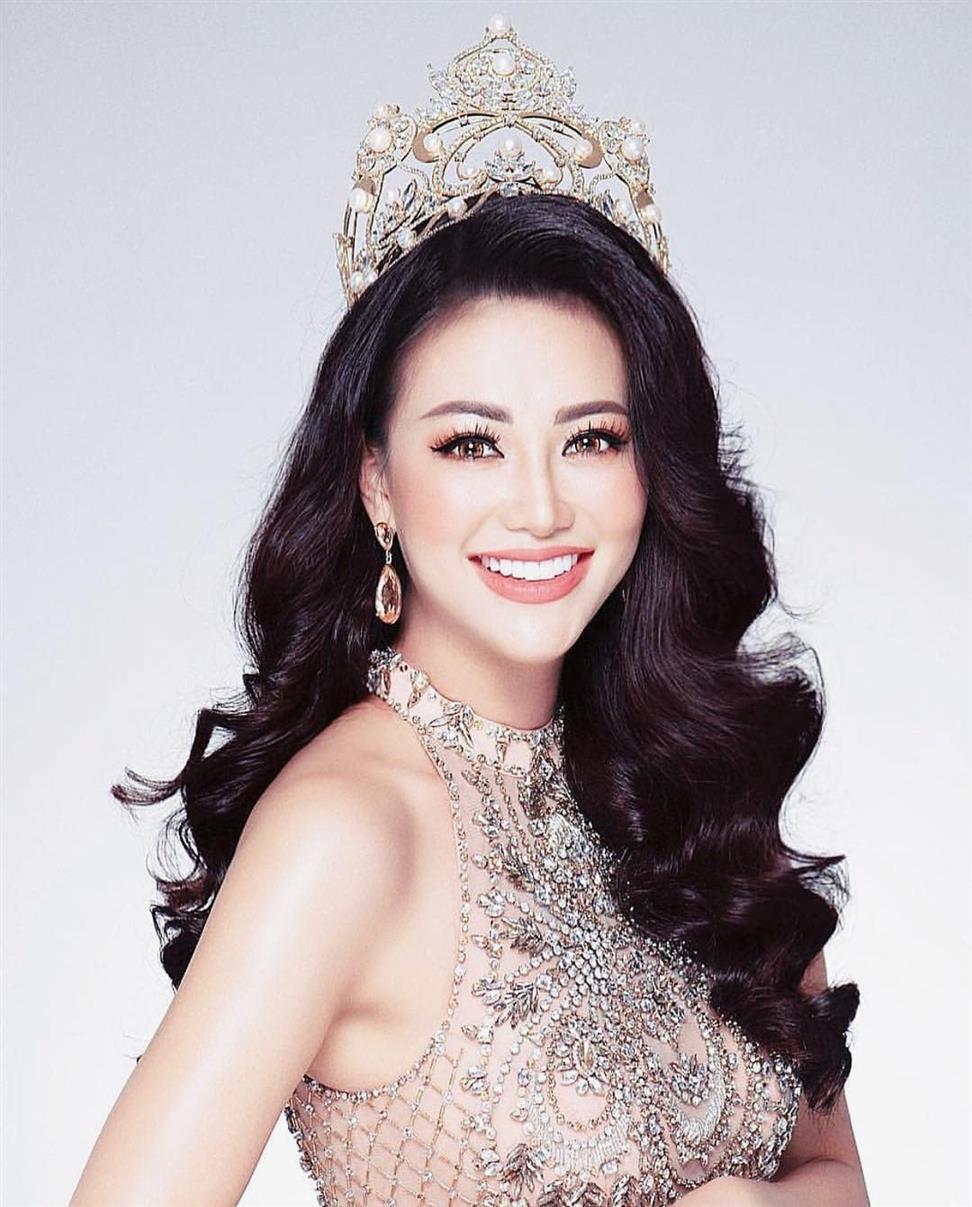 Phuong Khánh Nguy?n crowned Miss Earth 2018