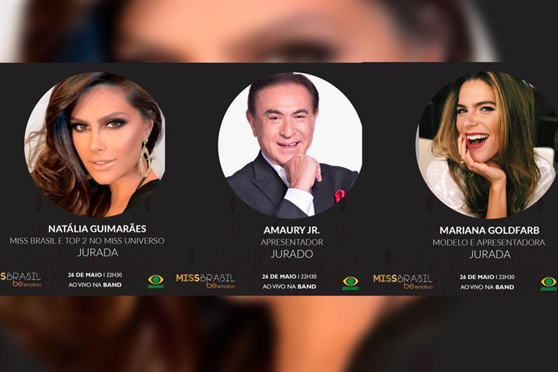 Miss Brasil 2018 Finale Judges Panel