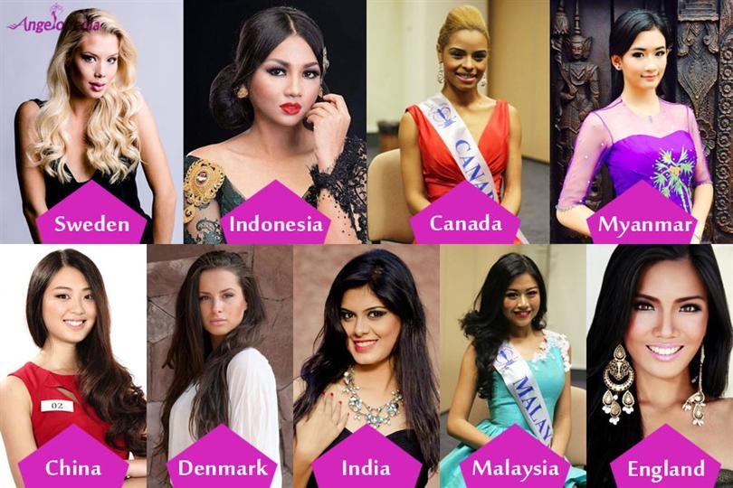 Miss Supranational 2014 Special Award Winners