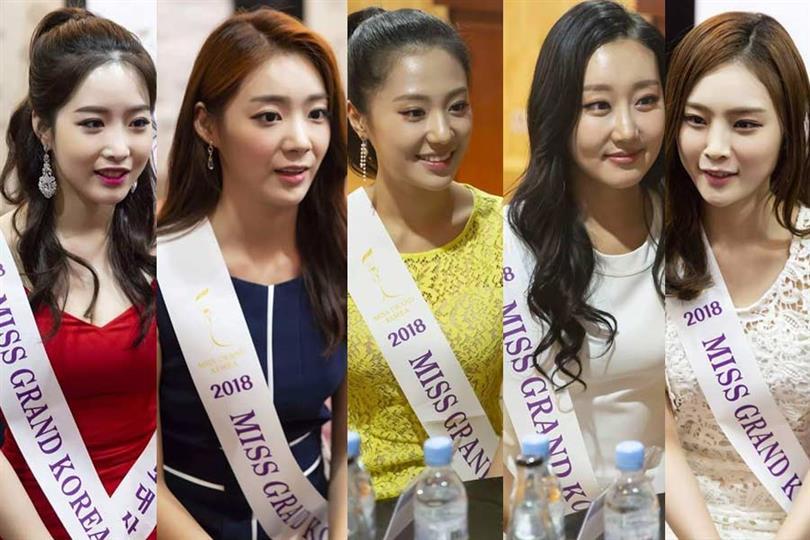Miss Grand Korea 2018 Meet the Contestants