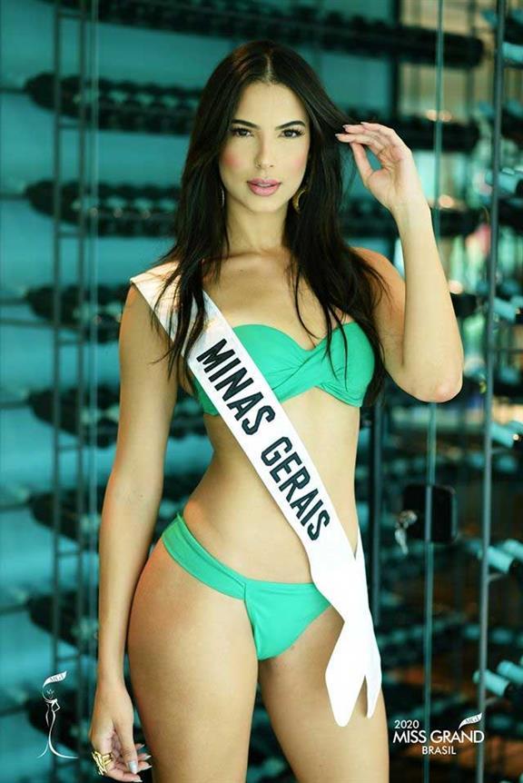 Luísa Rocha Miss Grand Minas Gerais 2020