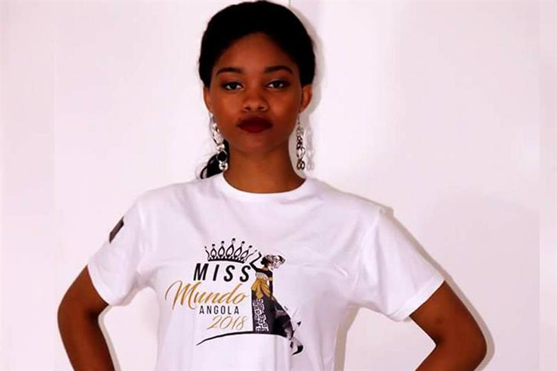 Nelma Ferreira elected Miss World Angola 2018