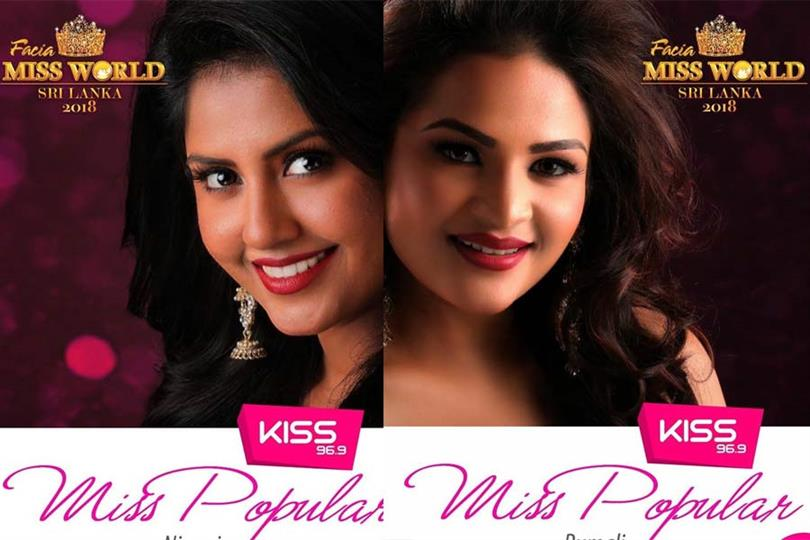 Miss World Sri Lanka 2018 Meet the Contestants