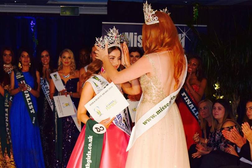Miss Earth England 2018 Abbey-Anne Gyles